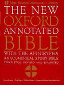 The New Oxford Annotated Bible with the Apocrypha  New Revised Standard Version