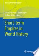 Short Term Empires In World History PDF