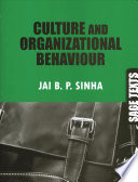 Culture and Organizational Behaviour