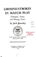 Ground Strokes in Match Play Book