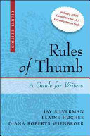 Rules of Thumb Book