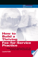 How to Build a Thriving Fee for Service Practice