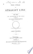 The Circle and Straight Line
