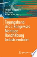 Tagungsband des 2  Kongresses Montage Handhabung Industrieroboter Book