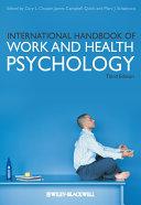 International Handbook of Work and Health Psychology Book