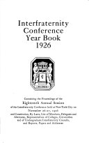 Interfraternity Conference Year Book