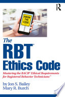 The RBT   Ethics Code Book
