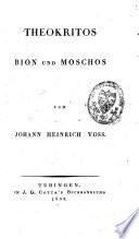 Theocritus, Bion, Moschus