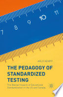 The Pedagogy of Standardized Testing