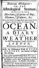 Nauticum Astrologicum: Or, The Astrological Seaman ebook