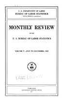 Monthly labor review  v  5  1917
