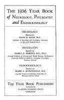 The Year Book Of Neurology Psychiatry And Neurosurgery Book PDF