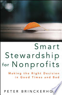 Image and link to ebook titles Smart Stewardship for nonprofits