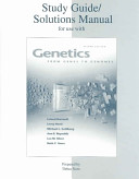 Study Guide/solutions Manual for Use with Genetics