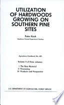 Utilization of Hardwoods Growing on Southern Pine Sites
