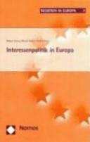 Interessenpolitik in Europa