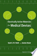 Electrically Active Materials For Medical Devices Book PDF