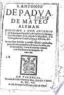 S Antonio De Padua De Mateo Aleman