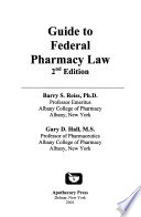 Year ... Guide to Federal Pharmacy Law