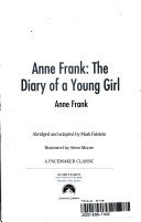 Anne Frank Diary of a Young Girl Book PDF