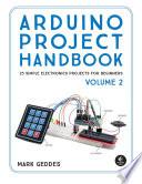 Arduino Project Handbook,Mark Geddes, 2016