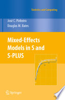 Mixed Effects Models In S And S Plus Book PDF