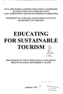 Educating for Sustainable Tourism