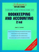 Schaum s Outline of Theory and Problems of Bookkeeping and Accounting