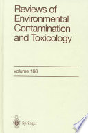Reviews of Environmental Contamination and Toxicology Book