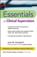 Essentials of Clinical Supervision [Pdf/ePub] eBook
