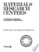 Materials Research Centres