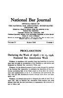 National Bar Journal