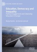 Education, Democracy and Inequality