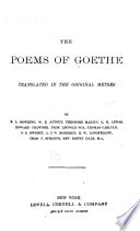 Works of Goethe