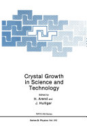 Crystal Growth in Science and Technology - Seite 412