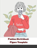 Fashion Sketchbook Figure Template