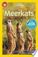 National Geographic Readers  Meerkats Book