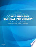 Massachusetts General Hospital Comprehensive Clinical Psychiatry E Book Book PDF