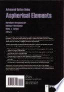 Advanced Optics Using Aspherical Elements