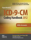 ICD 9 CM 2012 Coding Handbook  With Answers Book