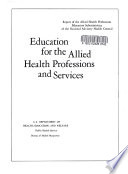Education For The Allied Health Professions And Services