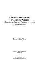 A Comprehensive Study of American Writer Elizabeth Stuart Phelps  1844 1911