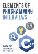 Elements of Programming Interviews Pdf/ePub eBook