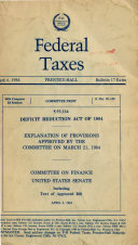 Deficit Reduction Act of 1984