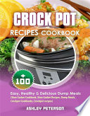 Crock Pot Recipes Cookbook Book