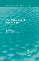 The Valuation of Social Cost  Routledge Revivals