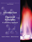 Introduction to Chemical Principles  A Laboratory Approach