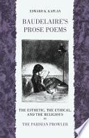 Baudelaire s Prose Poems