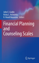 Financial Planning and Counseling Scales [Pdf/ePub] eBook