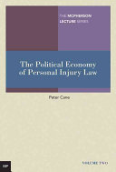 The Political Economy of Personal Injury Law